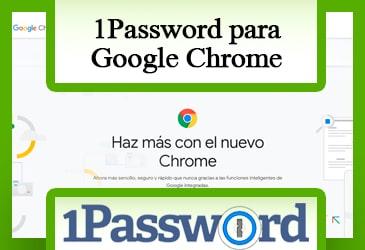Descarga 1Password para Google Chrome