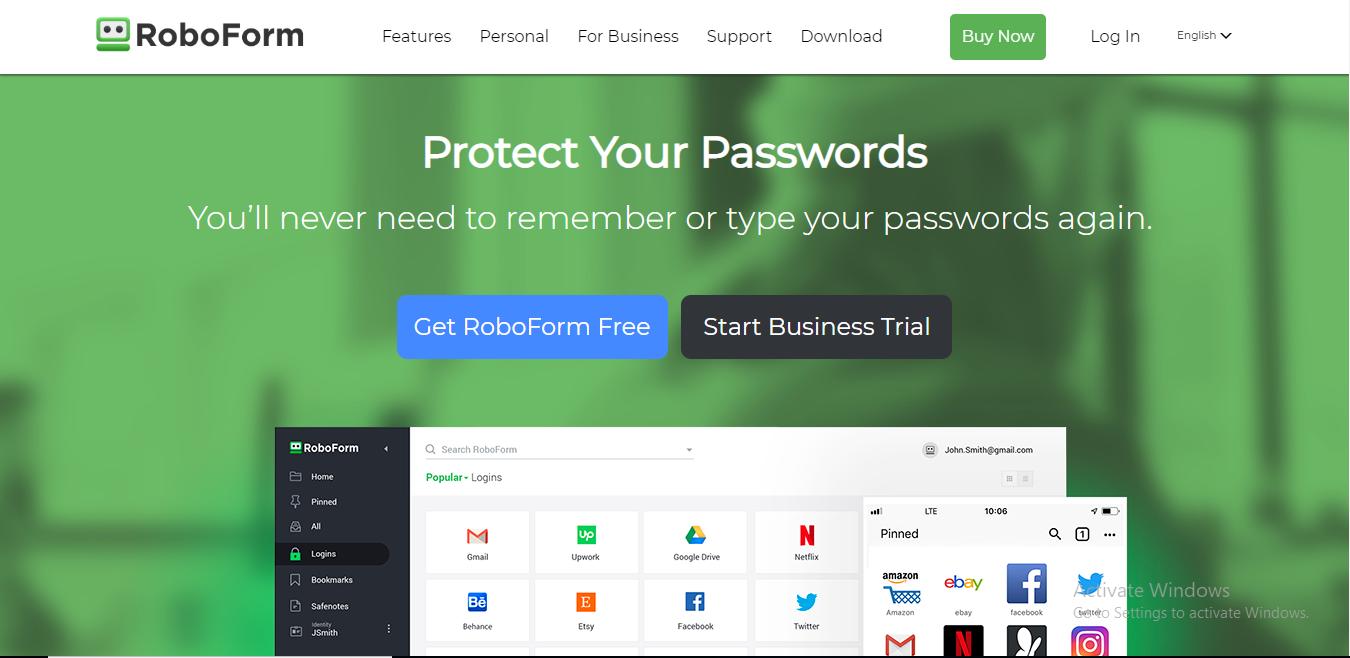roboform homepage 3