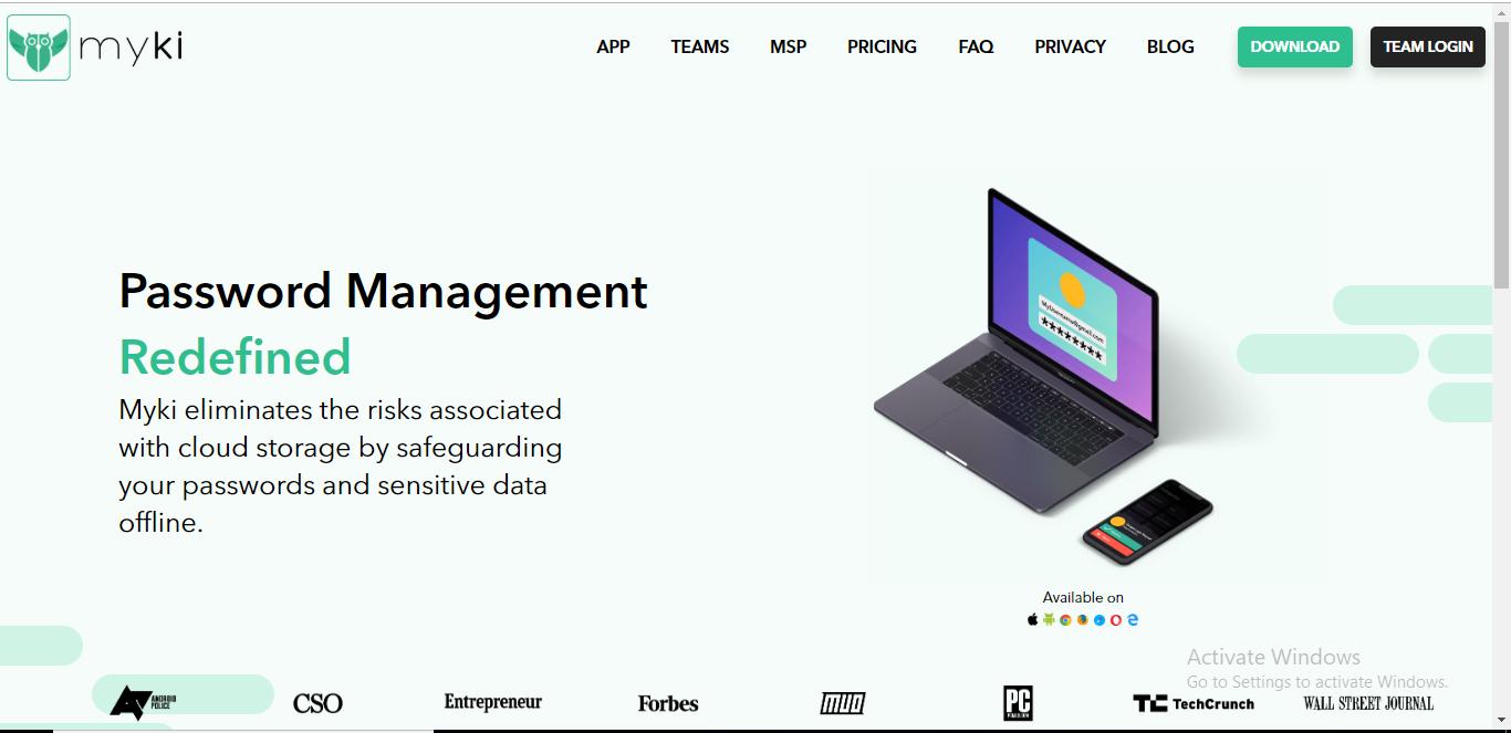 Myki Password Manager - Opinión