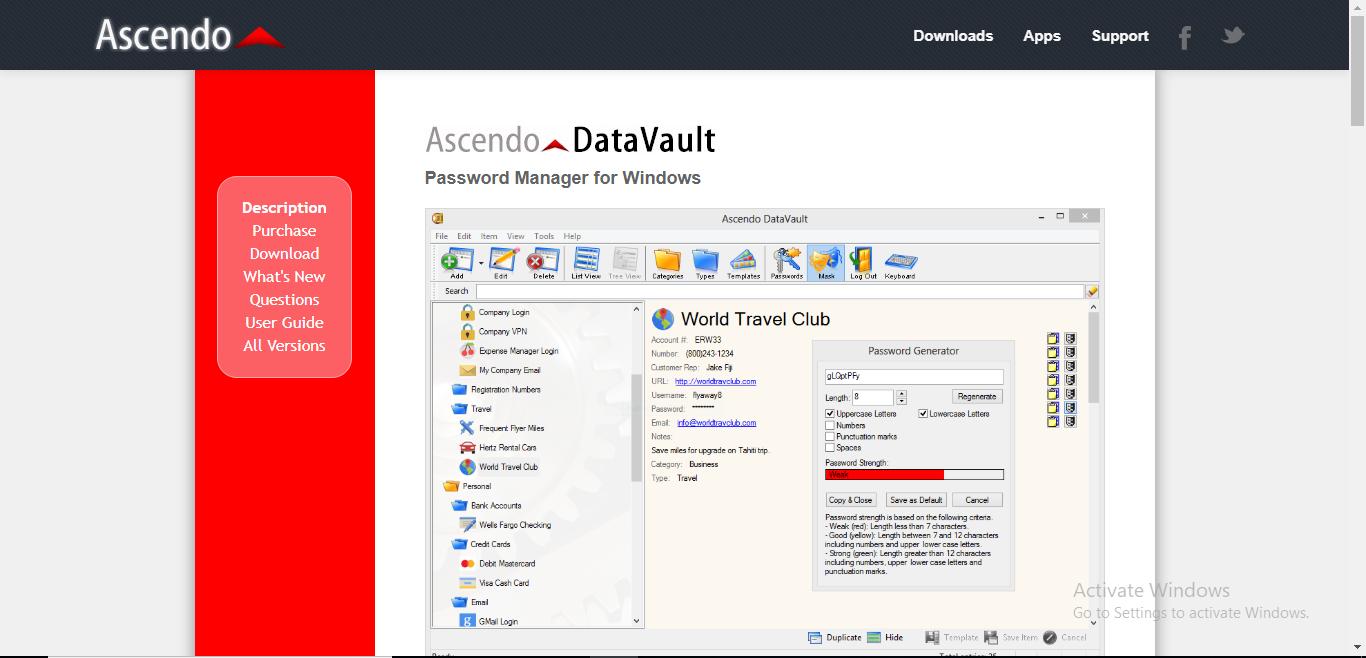 Revisión de DataVault - Opinión